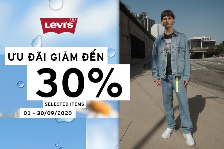 Levis giảm 30%