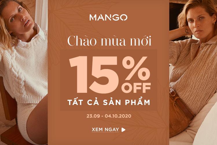 Mango Giảm Đến 15%
