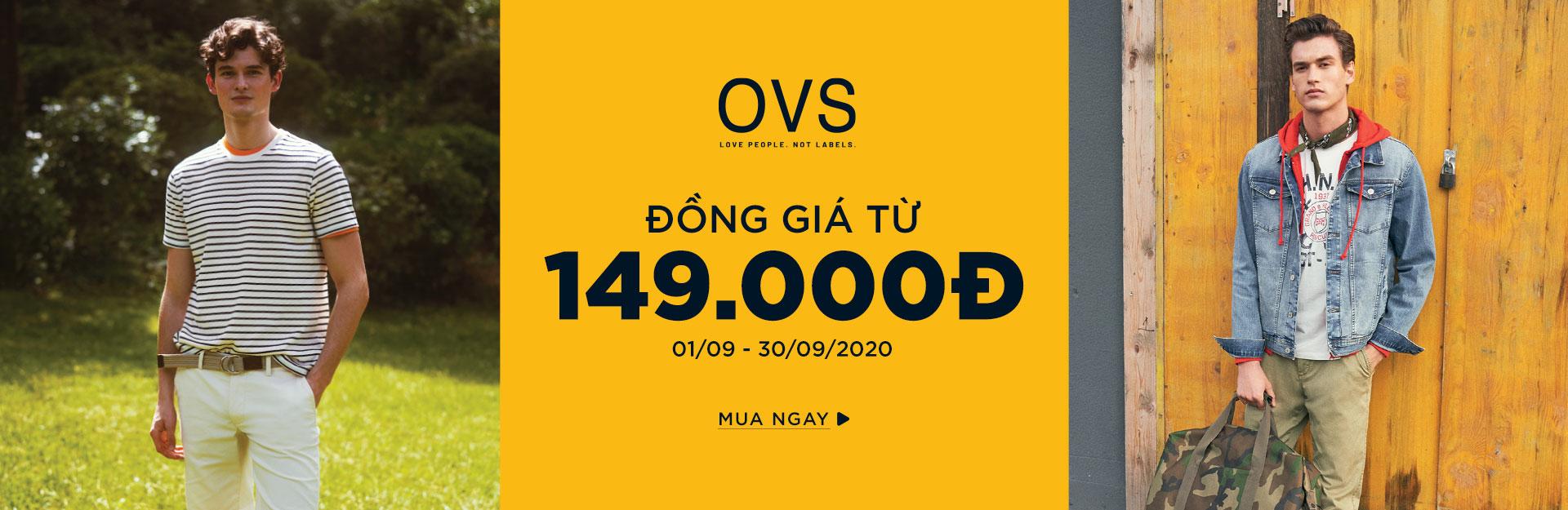 OVS đồng giá 149.000đ