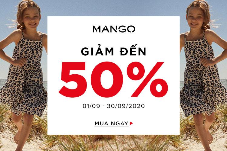 Mango Giảm Đến 50%