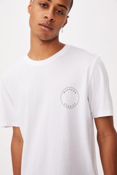 Áo Thun Nam Có Hoạ Tiết - Tbar Street T-Shirt