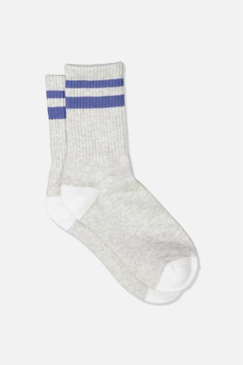 Vớ dài - Sporty Stripe Crew Sock