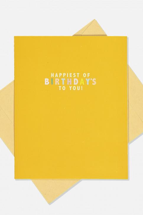 Thiệp sinh nhật - NICE BIRTHDAY CARD