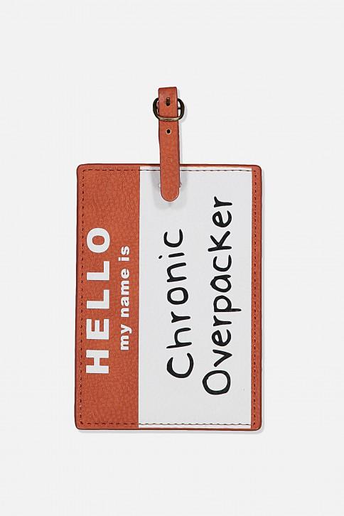 Thẻ hành lý - SHAPE SHIFTER LUGGAGE TAG